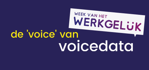 de 'voice' van Voicedata - week van het werkgeluk