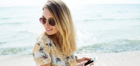 foto's of video's plaatsen vanaf je strandhuis op bora bora?