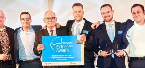 Voicedata wint twee awards bij de VPA2018